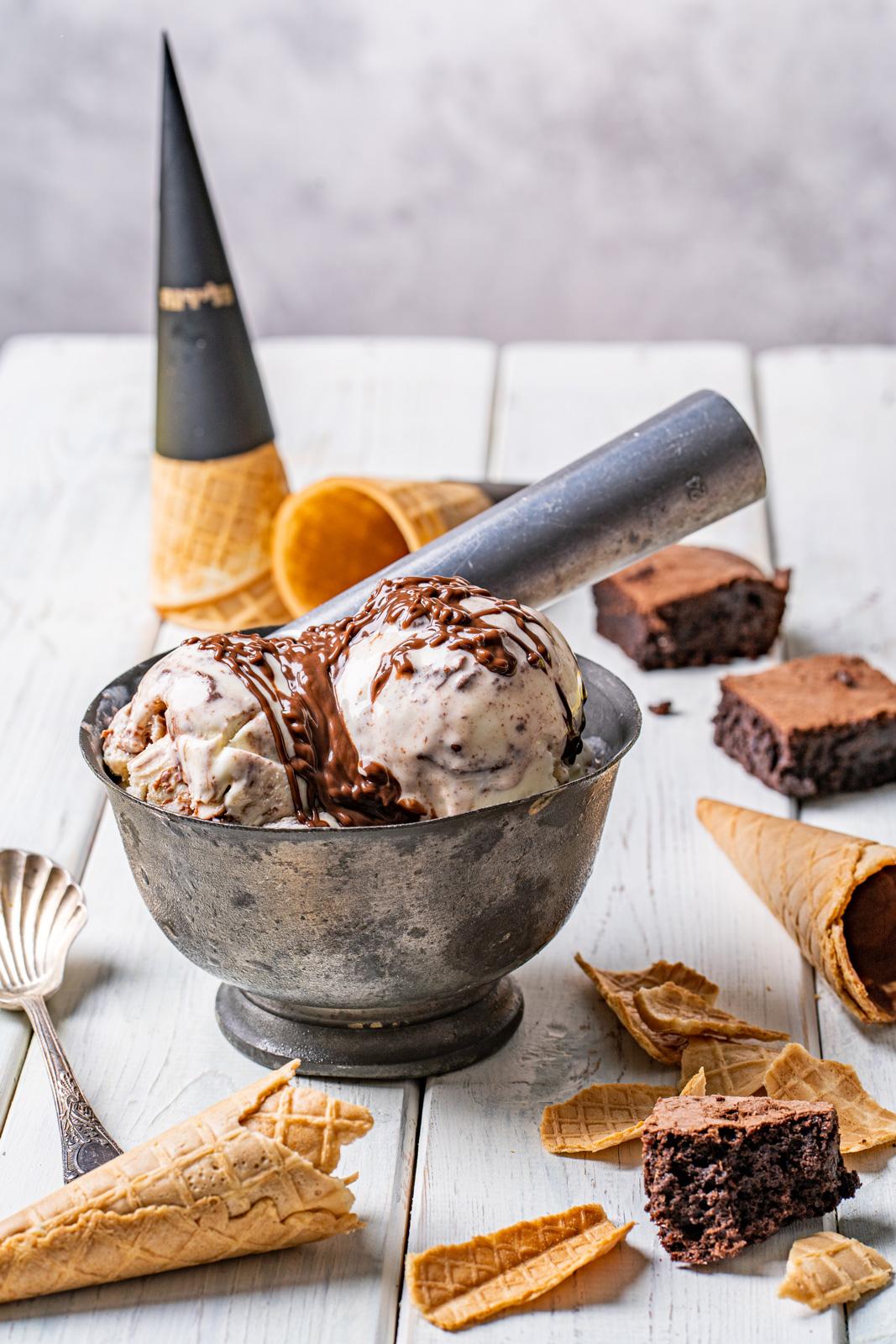 גלידה בראוניז
